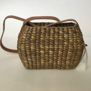 NWT Faithfull The Brand Gloria Wicker Bag